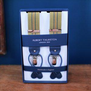 Albert Thurston suspenders bretelles